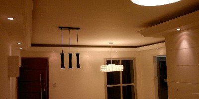 Iluminação em Sanca Gesso
